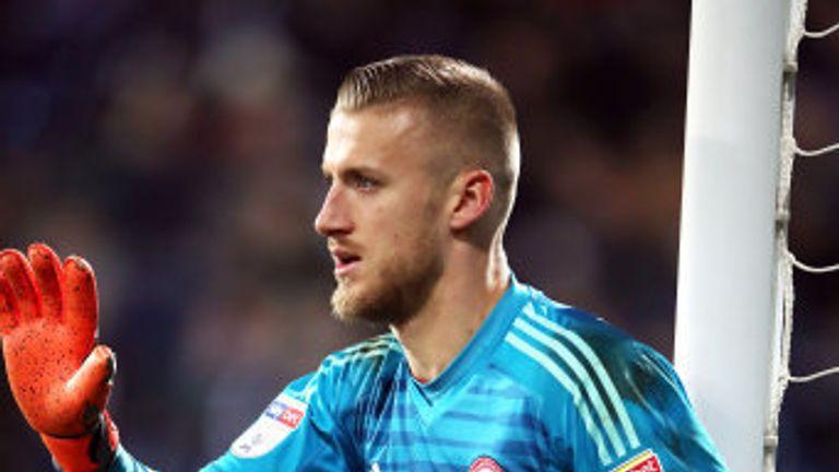 Brentford goalkeeper Daniel Bentley is still unavailable