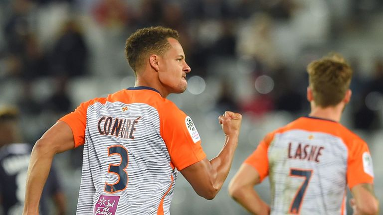 Daniel Congre netted his second Ligue 1 goal of the season against Bordeaux