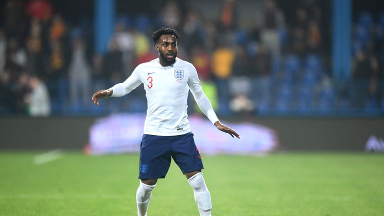 Danny Rose was subject to racism after he was booked in the second half of England's European Qualifier against Montenegro