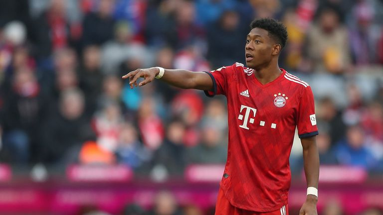 David Alaba is set to return against Liverpool