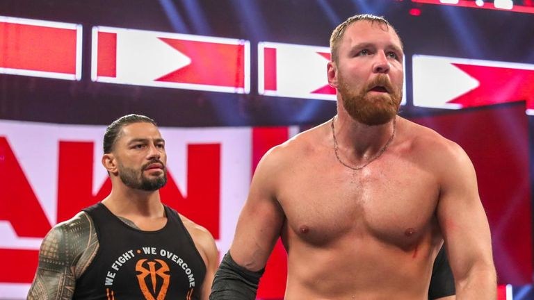 Dean Ambrose announced he would leave WWE during Roman Reigns' time out with leukaemia treatment
