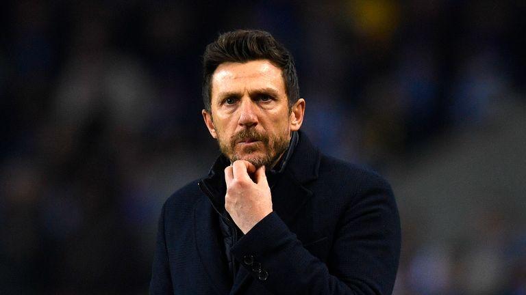 Could Eusebio Di Francesco be set to take over at Sevilla?
