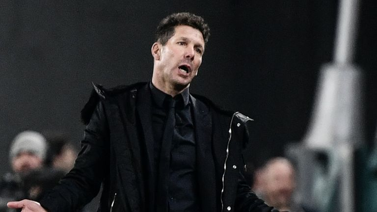 Simeone is planning an overhaul of his squad