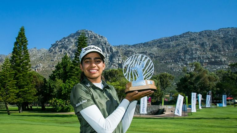 Diksha Dagar earned a one-shot win in South Africa