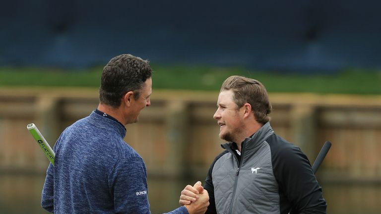 Pepperell played alongside Justin Rose in the final round