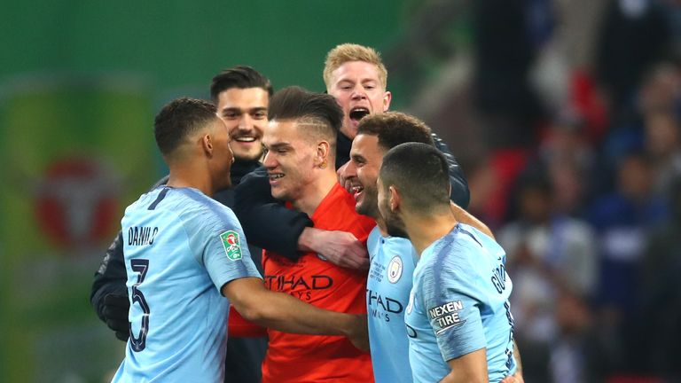 1335795a0de Ederson spoke to Sky Sports ahead of Manchester City s Premier League game  against Fulham on Saturday