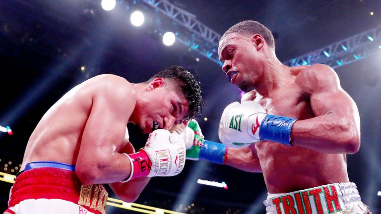 Errol Spence Jr sealed a masterful victory over Mikey Garcia in Texas