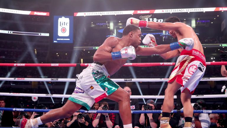 Errol Spence Jr unanimously outpointed Mikey Garcia