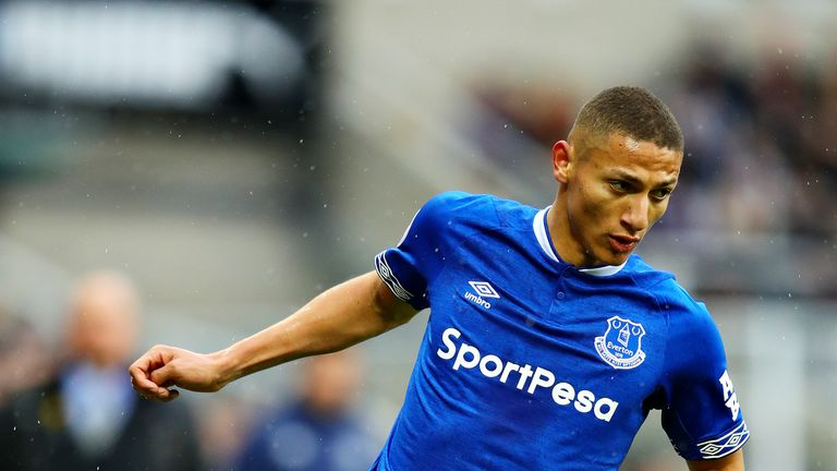 Everton forward Richarlison is in line to feature against Chelsea