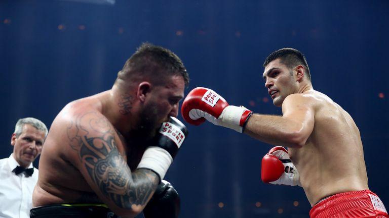 Filip Hrgovic is unbeaten in seven pro fights