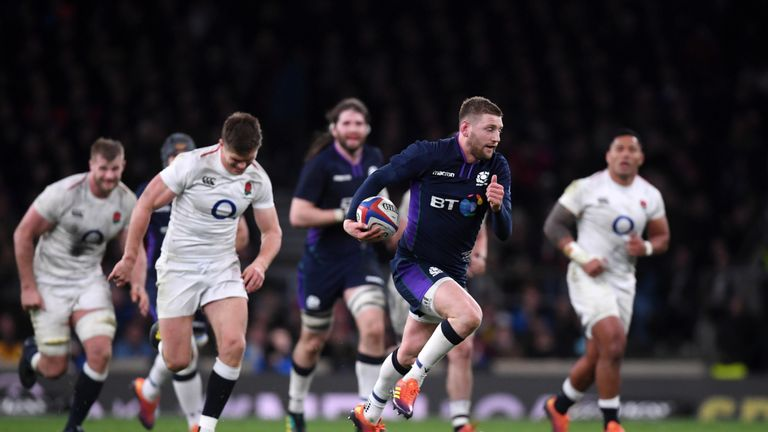 Scotland drew 38-38 against England in the Six Nations but had a disappointing campaign overall