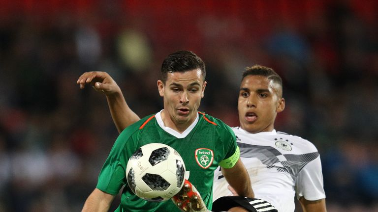 Former Ireland U21 captain Josh Cullen could make his senior debut against Gibraltar or Georgia