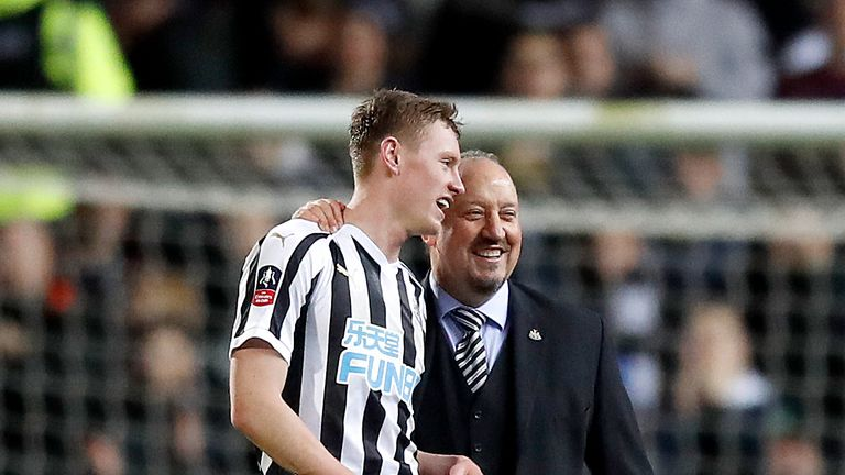 Rafael Benitez has predicted a big future for Longstaff