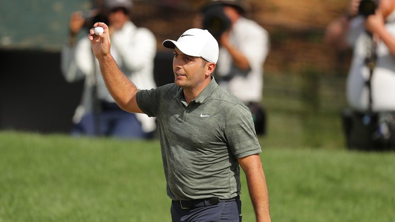 Molinari was delighted with his putting in the final round