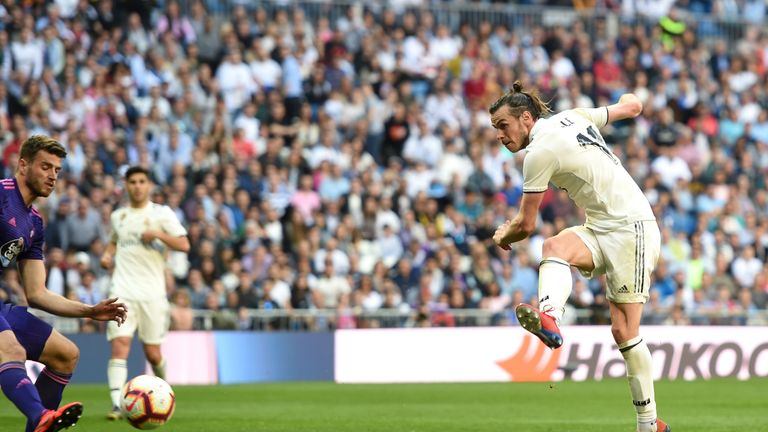 Gareth Bale scored Real Madrid's second at the Bernabeu