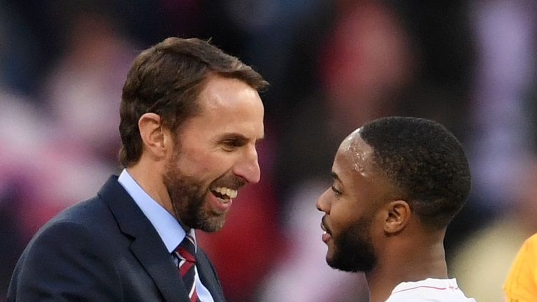 Sterling will be part of Gareth Souithgate's England squad for the Nations League Finals