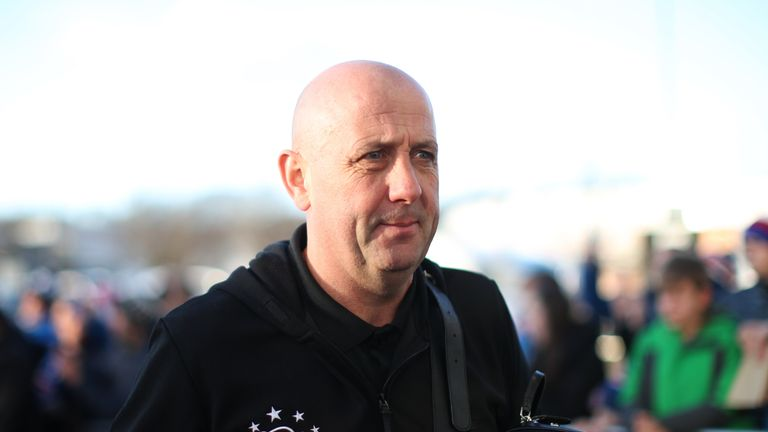 Gary McAllister was outside a bar with his wife when he was punched