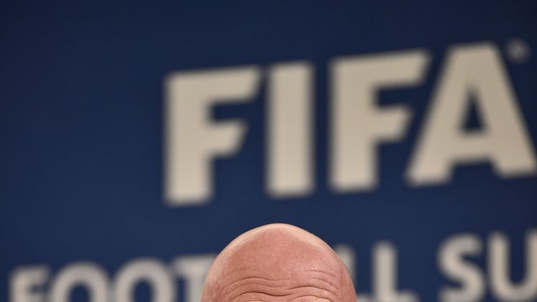FIFA, which is led by Gianni Infantino, are taking a tougher stance on discrimination