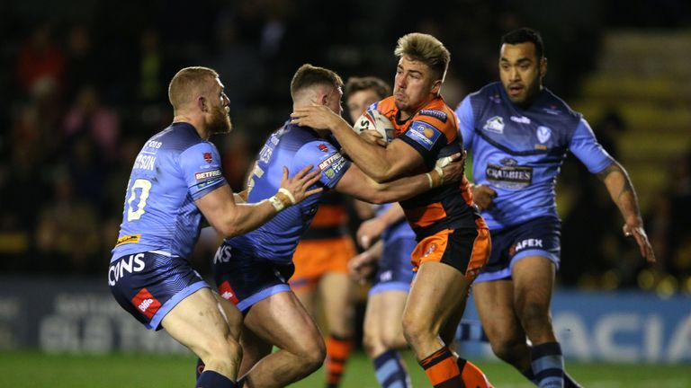Castleford Tigers had a tough night at the office as nothing came off for them