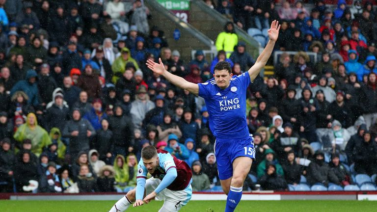 Maguire was given his marching orders just four minutes into the game