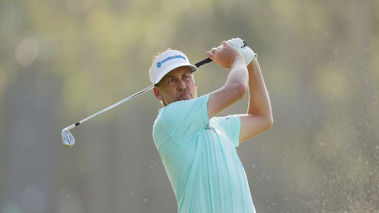 Ian Poulter climbed the leaderboard at TPC Sawgrass