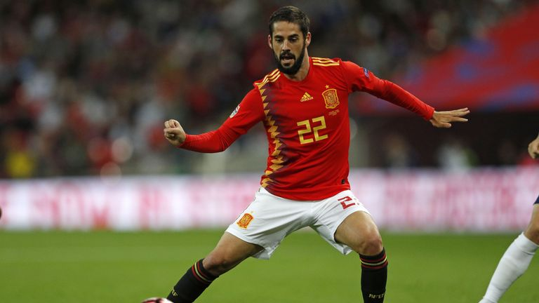 Isco has been left out of the Spain squad following a frustrating season at Real Madrid