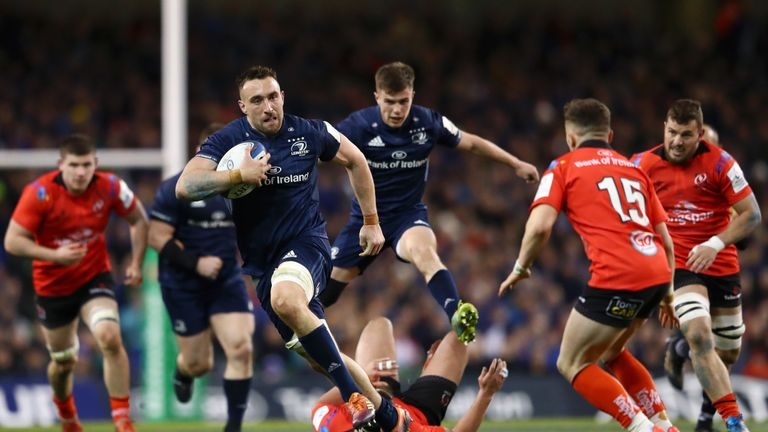 Jack Conan produced a man of the match performance for Leinster