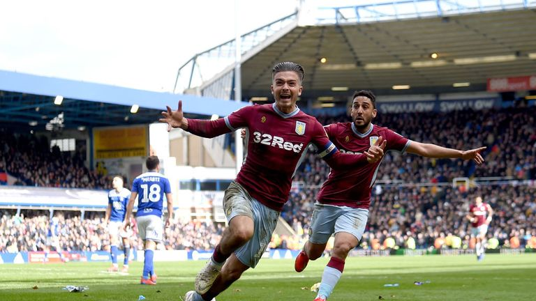 Grealish went on to score what turned out to be the only goal at St Andrew's