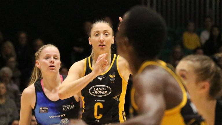 Wasps beat Sirens to extend their lead at the top of the Superleague table