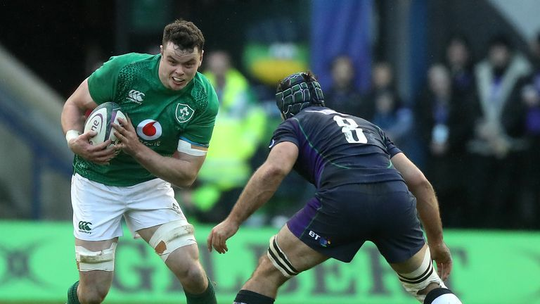 James Ryan is one of a number of Ireland players to come back into the starting XV