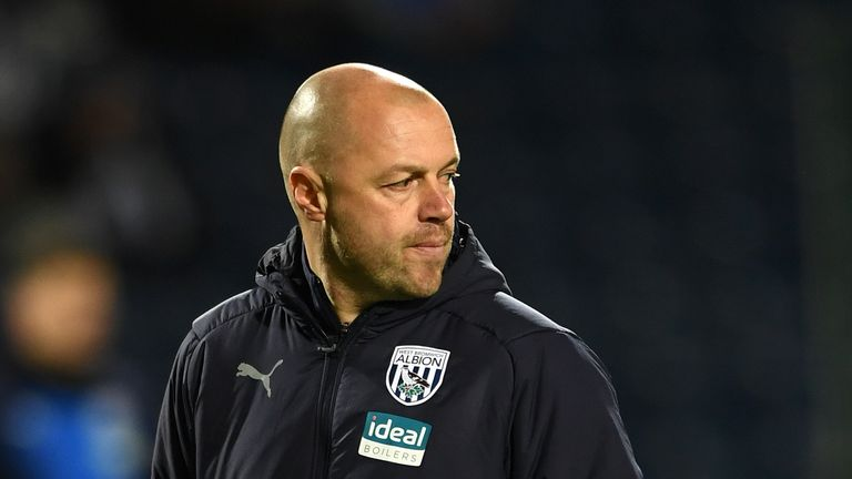 James Shan could not guide Albion to promotion during his spell as caretaker manager
