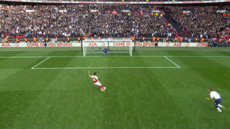 Jan Vertonghen had significantly encroached inside the penalty box