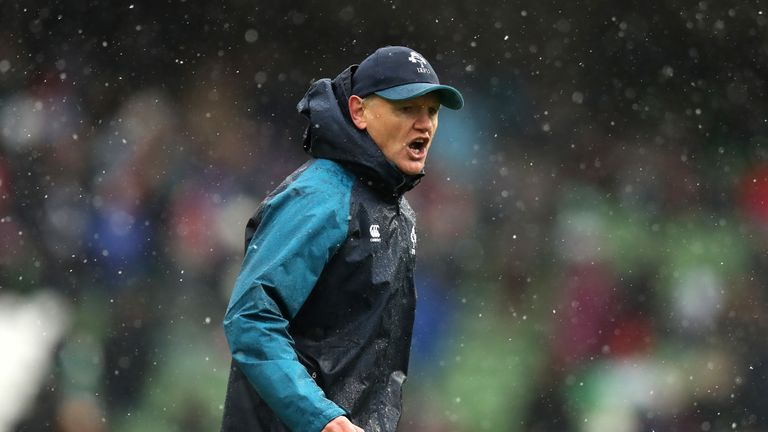 Ireland head coach Joe Schmidt is plotting to spoil Warren Gatland's party