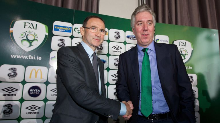 John Delaney has been chief executive of the FAI since 2005