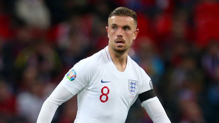 Henderson has been given more freedom in his midfield role with England