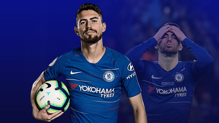 Jorginho has become a target of the boo boys at the Bridge
