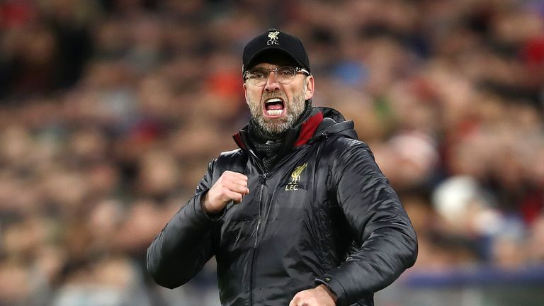 Jurgen Klopp are one point shy of their record Premier League points haul