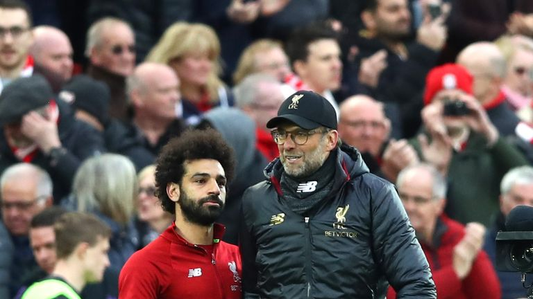 Jurgen Klopp and Mohamed Salah suffered Premier League heartbreak in 2018/19