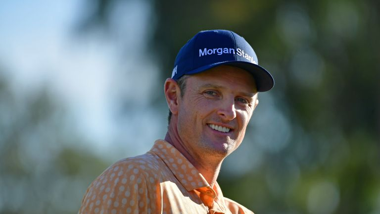 Justin Rose is Johnson's nearest rival in the world rankings