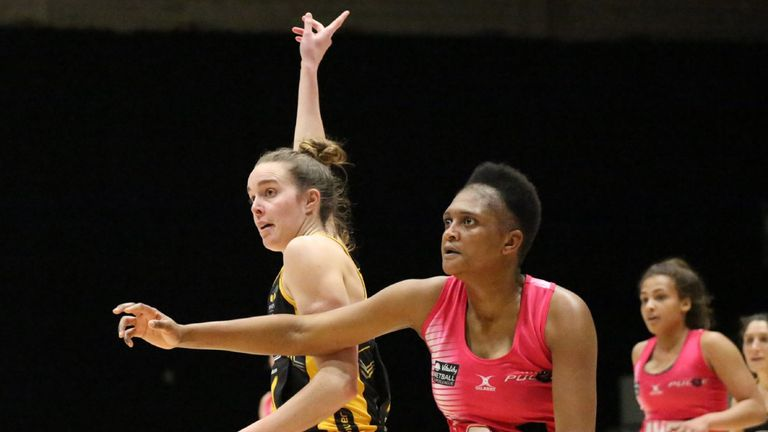 Wasps Netball 's win puts them in a good place ahead of Team Bath according to Greenway (Photo credit: Clive Jones)