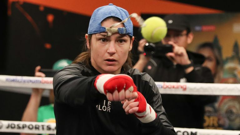 Katie Taylor reveals training plan that helped her win three world lightweight titles  | Boxing News |