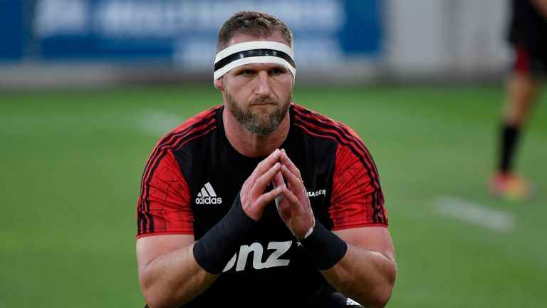 All Blacks skipper Kieran Read limped off with a knee injury after just 20 minutes