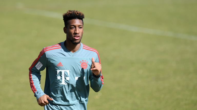 Kingsley Coman has recovered from a hamstring injury