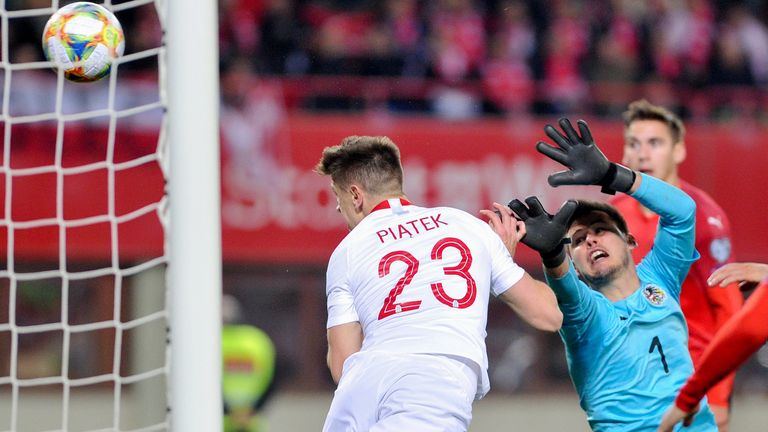 Krzysztof Piatek scored the winner as Poland beat Austria on Thursday