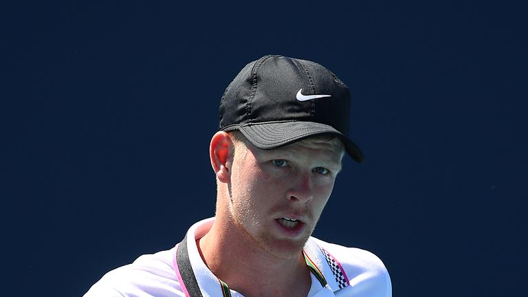 Kyle Edmund made a winning start to his Miami Open campaign