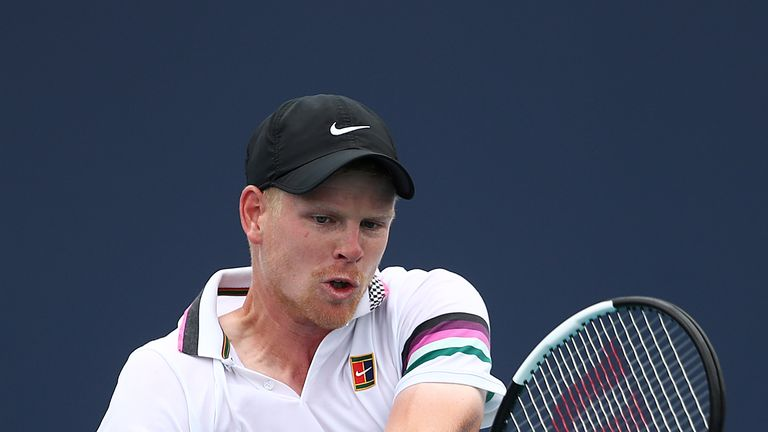 Kyle Edmund loses to defending Miami Open champion John Isner