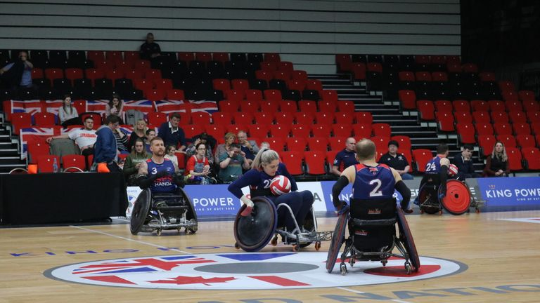 Great Britain won the silver medal at the recent Quad Nations in Leicester