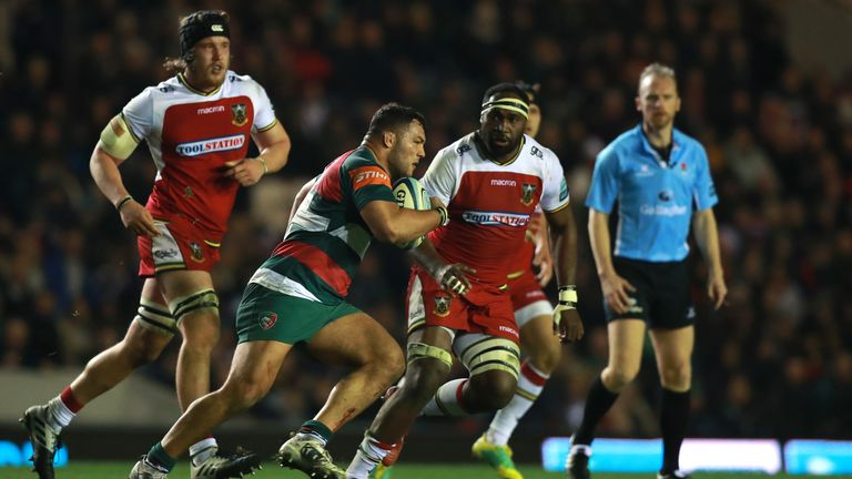 Leicester Tigers are in tenth position in the table and face league-leaders Exeter Chiefs in the next round
