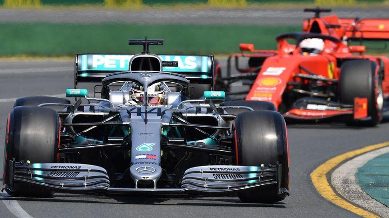 Australian GP Qualifying: Lewis Hamilton leads Mercedes one-two | F1 News