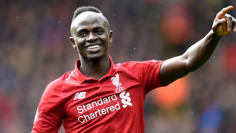 Sadio Mane has been in goal-scoring form for Liverpool this season